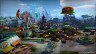 Questa colorata panoramica di Sunset City rende l'idea della bella grafica di Sunset Overdrive