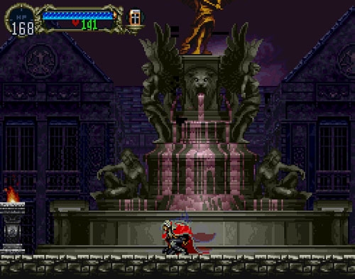 castlevania symphony of the night wolf
