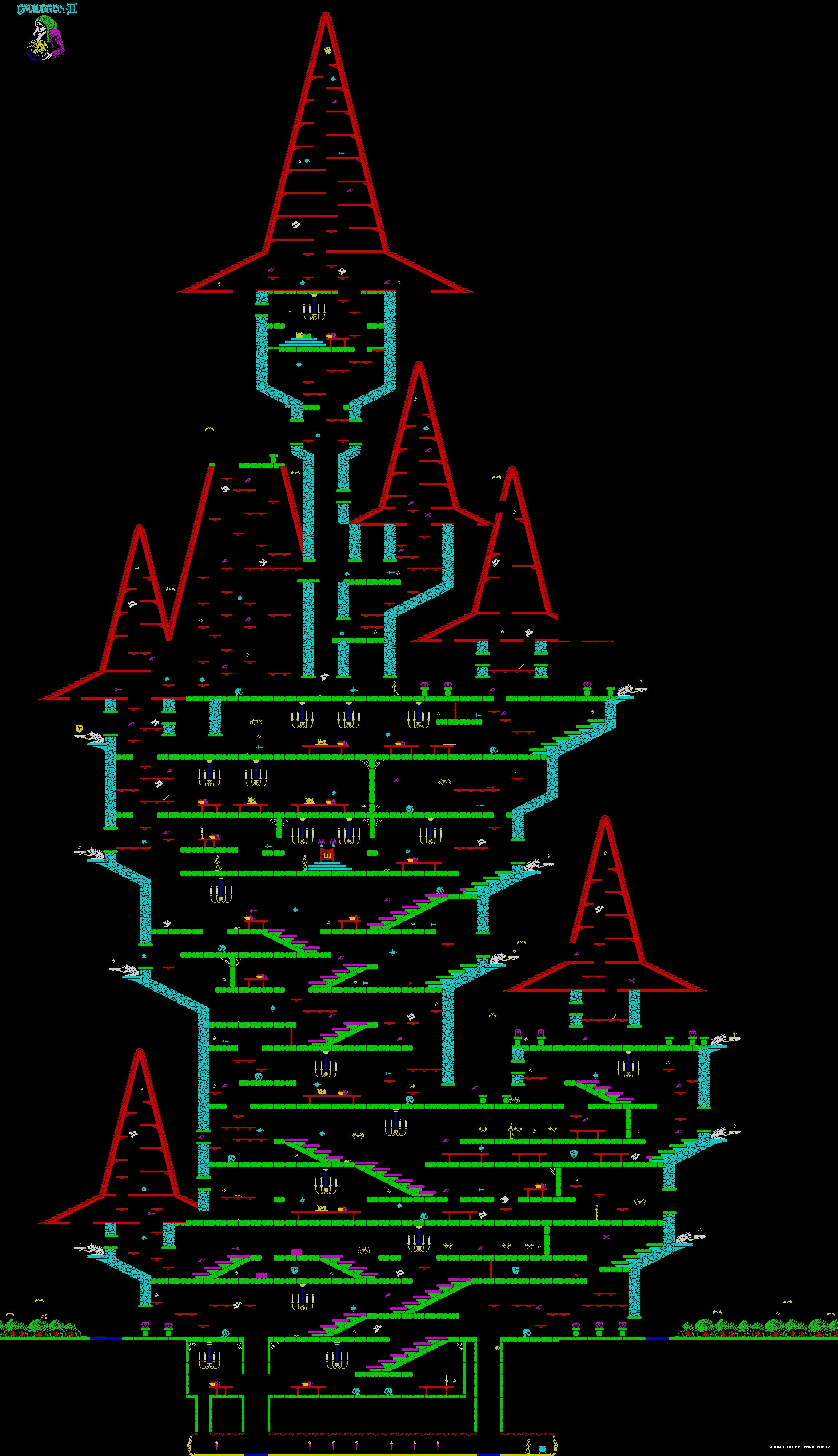 Cauldron 1985 - zx spectrum ссылки описание